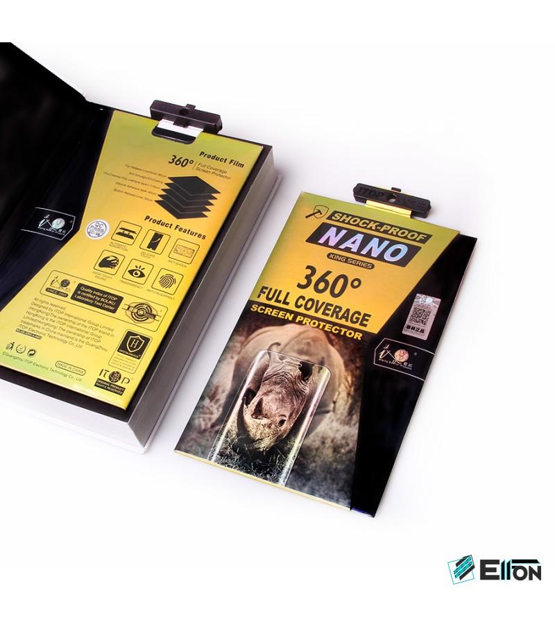 360 grad Full Cover TPU Nano (front + back) Glass für Galaxy S8 Plus, Art.:000302