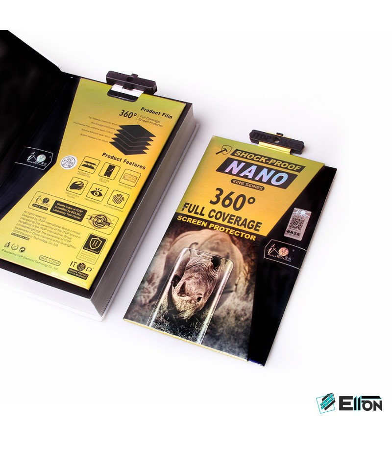 360 grad Full Cover TPU Nano (front + back) Glass für Galaxy S9 Plus, Art.:000302