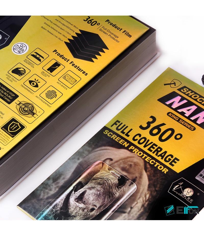 360 grad Full Cover TPU Nano (front + back) Glass für Galaxy A8, Art.:000302