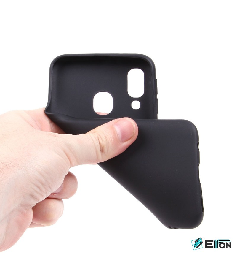 Black Tpu Case für Samsung Galaxy A40, Art.:000499