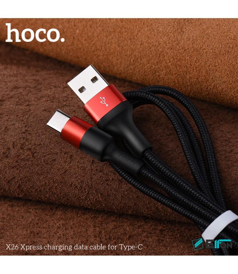 Hoco X26 Xpress Ladekabel für Typ-C 1m, Art.:000392