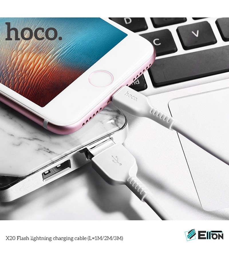 Hoco X20 Lightn. Kabel 2m, Art.:000395