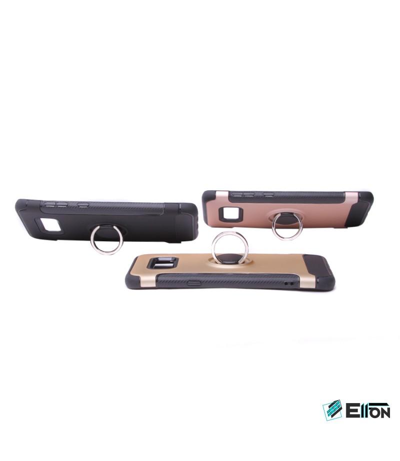 Carbon Design Case mit Magnet und Stand für Samsung Galaxy S8 Plus, Art.:000049
