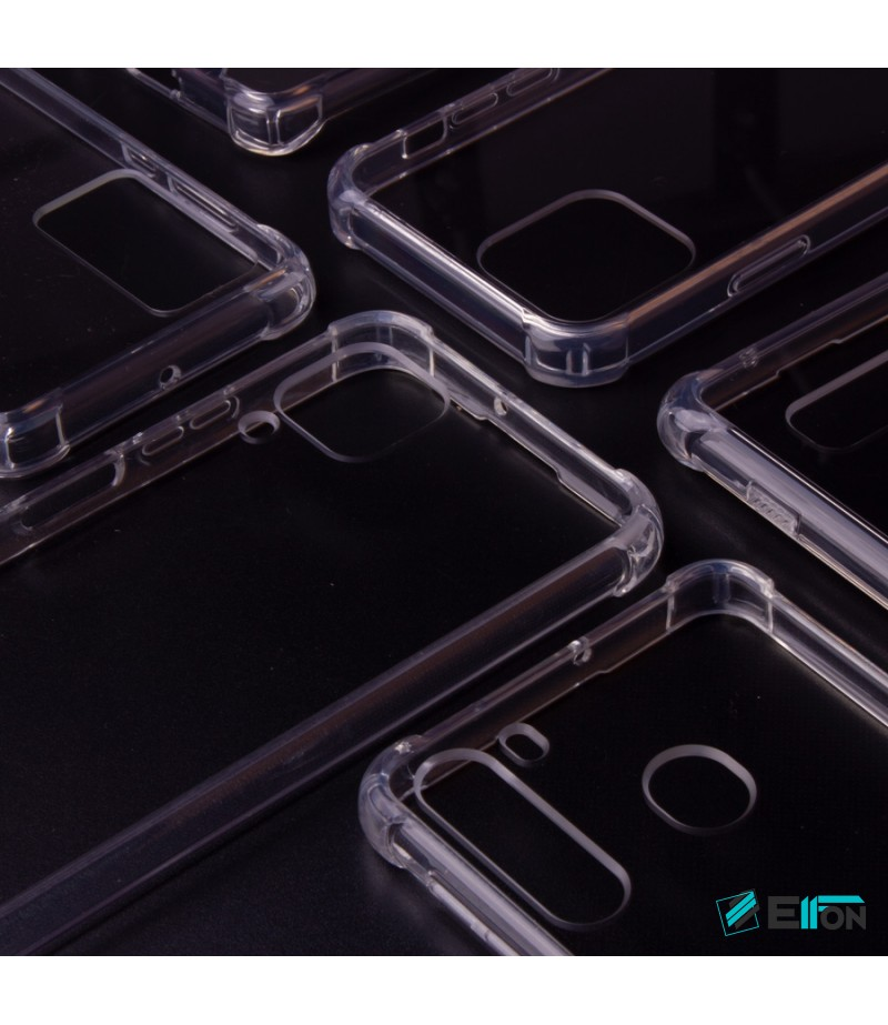 Premium Elfon Drop Case TPU+PC hart kratzfest kristallklar für Huawei P40 Pro, Art.:000099-1