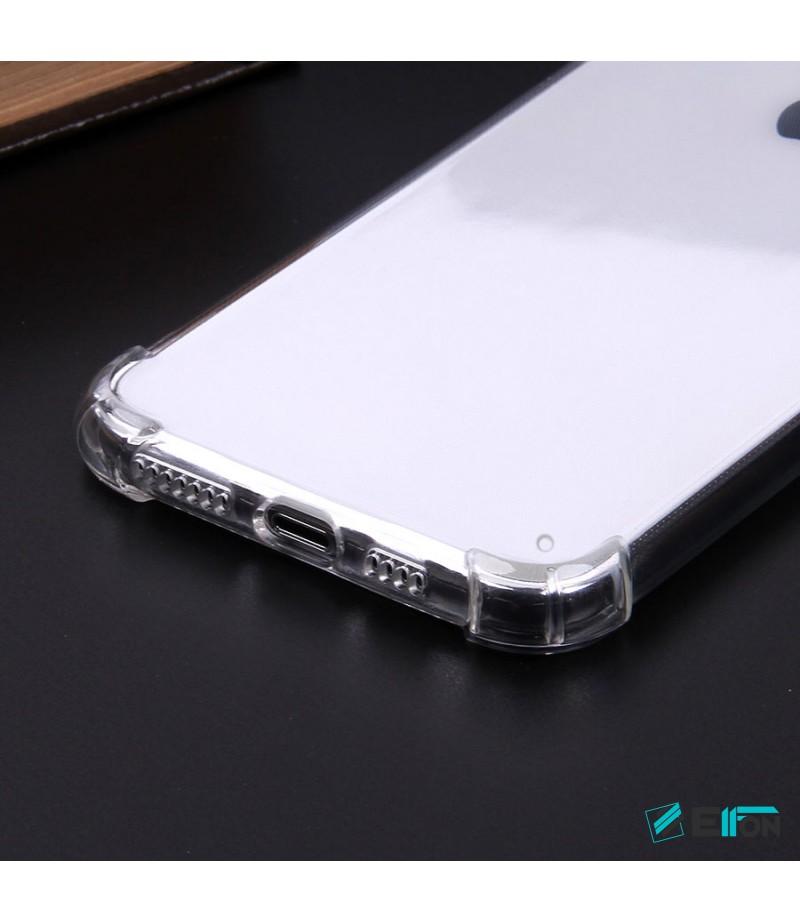 Elfon Drop Case TPU Anti-Rutsch Kratzfest Crystal (1mm) für Samsung Galaxy M20, Art:000308