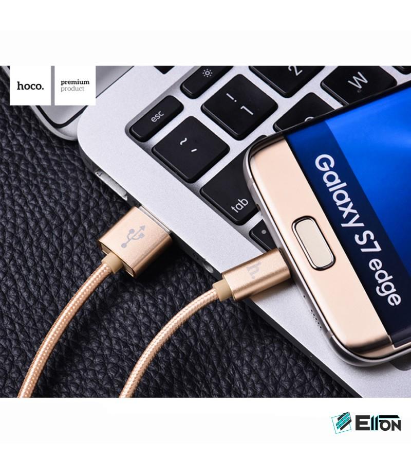 Hoco X2 Geflochten Micro Kabel 1m, Art.:000402