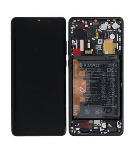 Huawei P30 Pro Display and Digitizer Complete Black (Service-Pack)