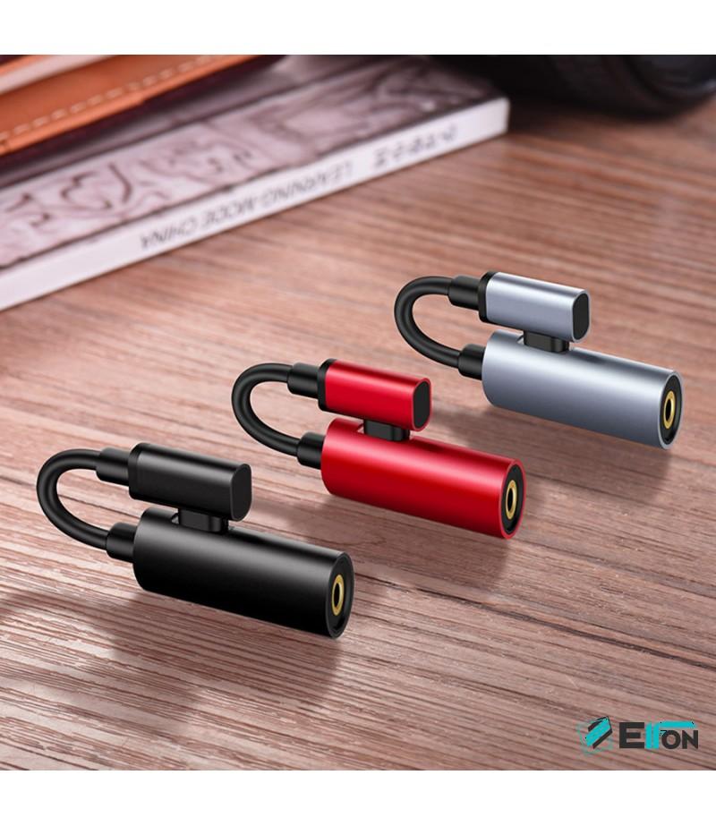 Hoco LS19 Typ-C 2-in-1 Audio converter, Art.:000478