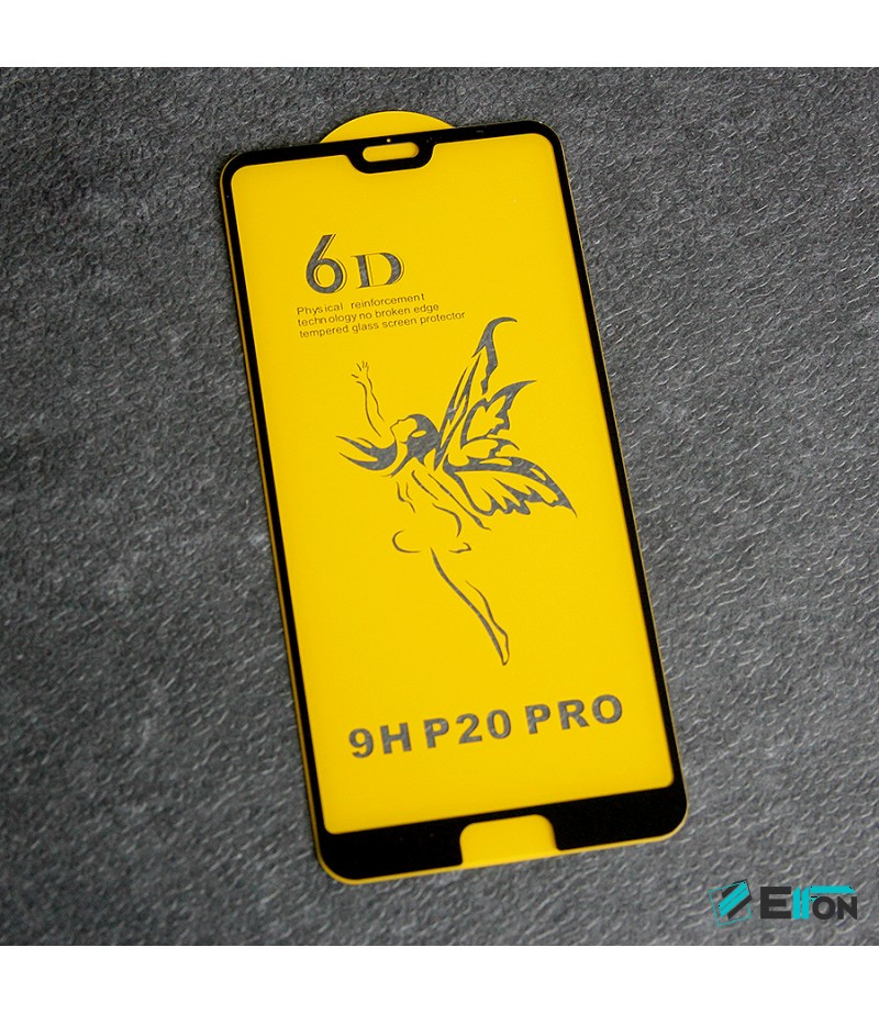 Full Glue Curved Tempered Glass Screen Protector für Huawei P20 Pro, Art:000298