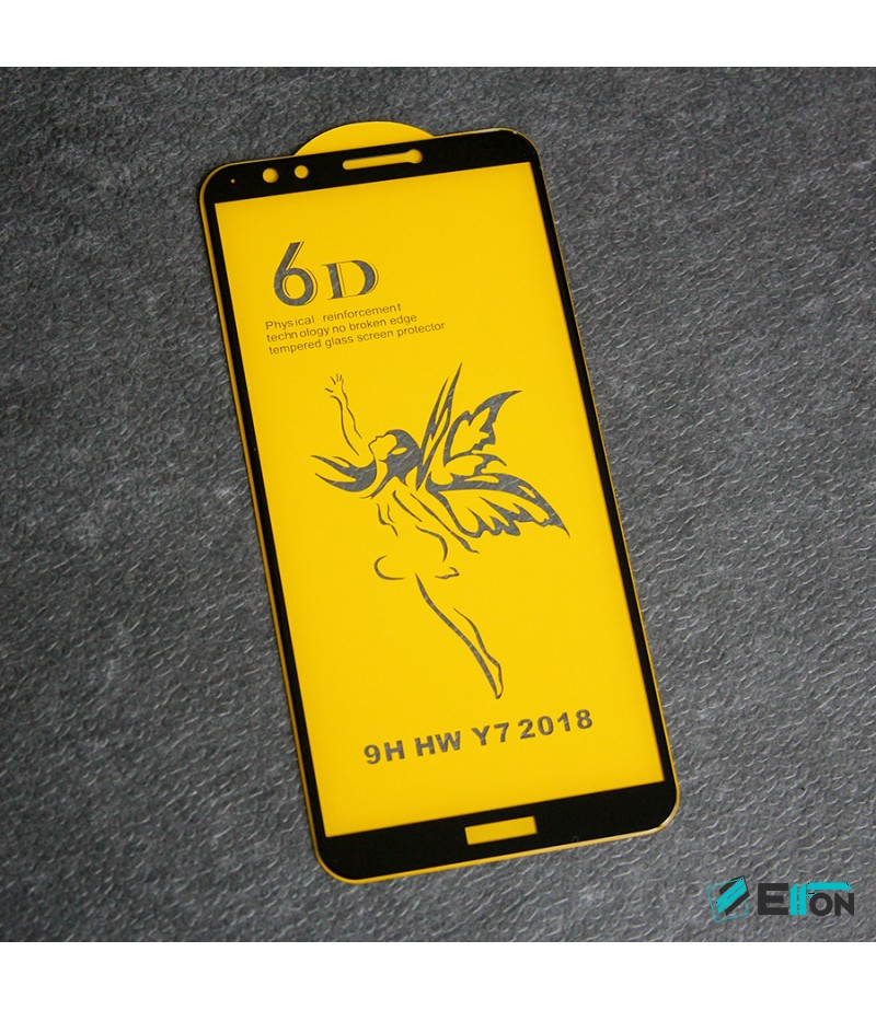 Full Glue Curved Tempered Glass Screen Protector für Huawei Y7 2018/ Y7 Prime, Art:000298