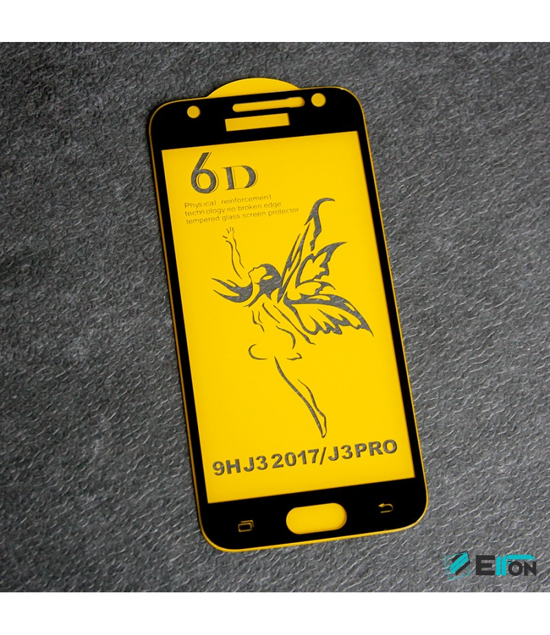 Full Glue Curved Tempered Glass Screen Protector für Samsung J3 (2017)/ J3 Pro, Art:000298
