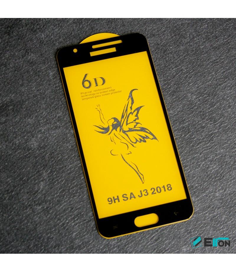 Full Glue Curved Tempered Glass Screen Protector für Samsung J3 (2018), Art:000298