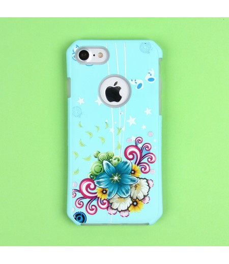 2in1  tpu +PC oily +printing picture für iPhone 7/8 Art.:000699