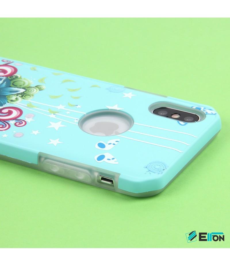 2in1  tpu +PC oily +printing picture für iPhone X/XS Art.:000699