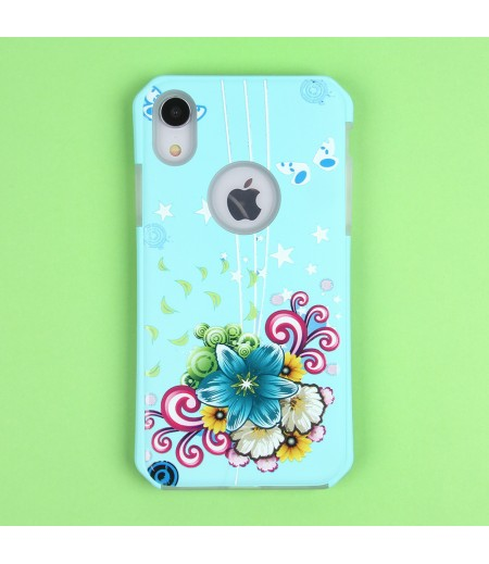 2in1  tpu +PC oily +printing picture für iPhone XR Art.:000699