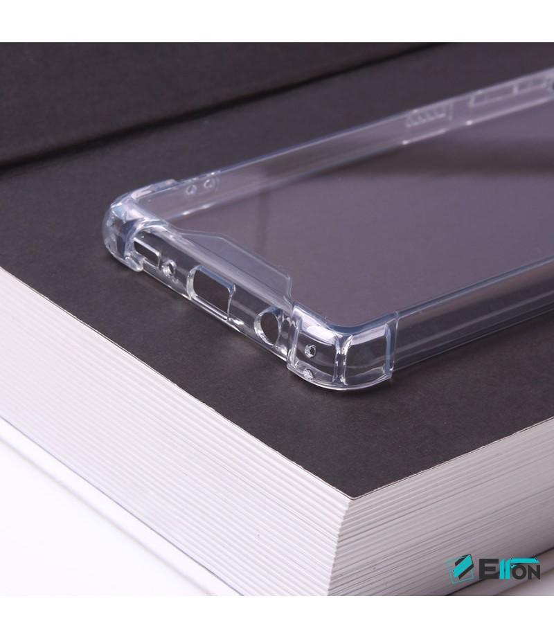 Vorpräparierte Hülle mit LöchernTPU+PC hart kristallklar für Samsung Galaxy S20  Art.:000004