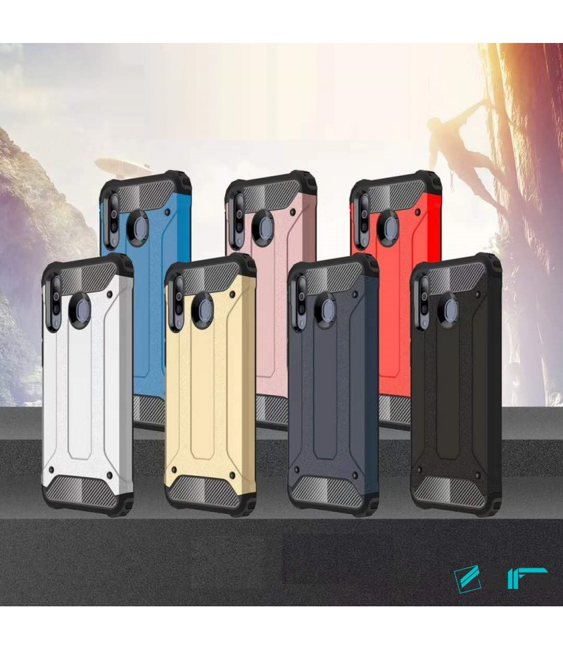 Shockproof cover 2 in 1 (TPC+PC) für Huawei P Smart, Art.:000528