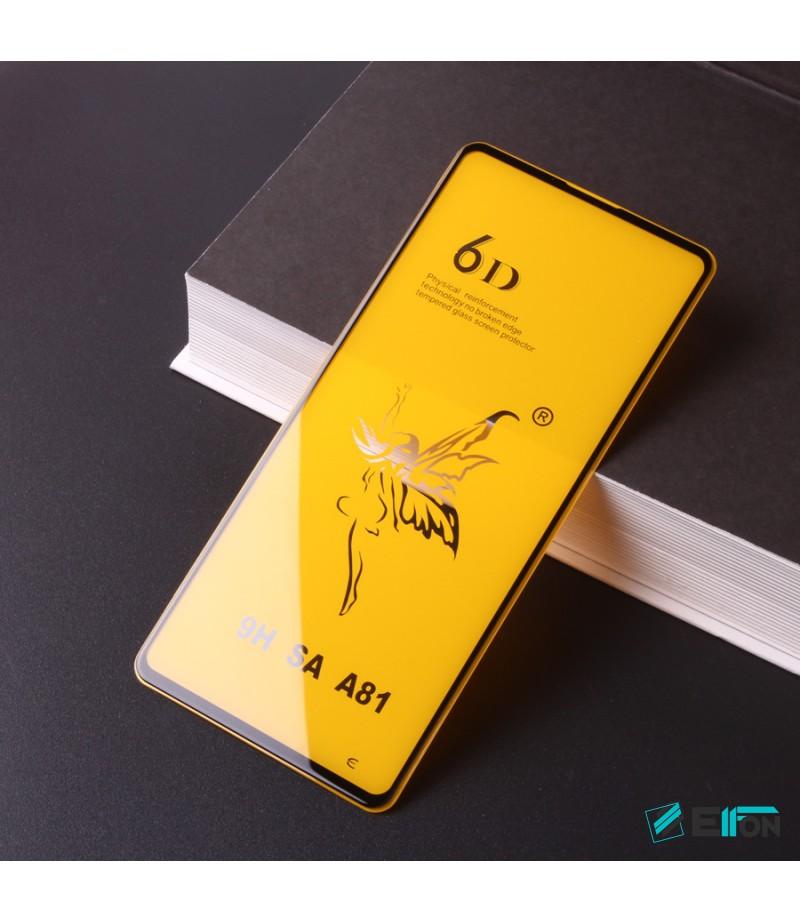 Full Glue Curved Tempered Glass Screen Protector für Samsung A81, Art:000298