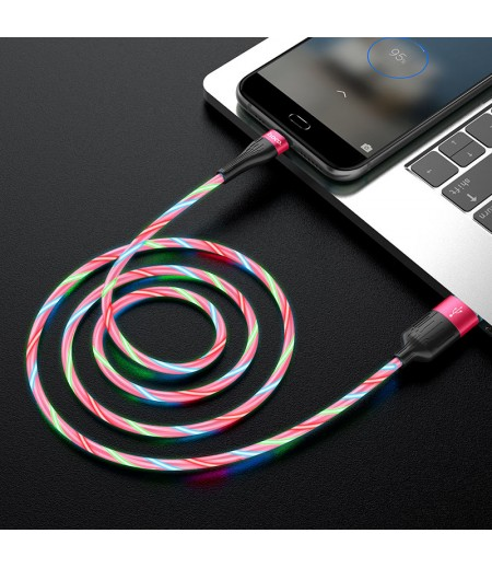 Hoco U85 Charming night charging data cable for Micro, Art.:000768