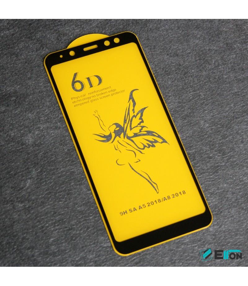 Full Glue Curved Tempered Glass Screen Protector für Samsung A5 (2018)/ A530, Art:000298